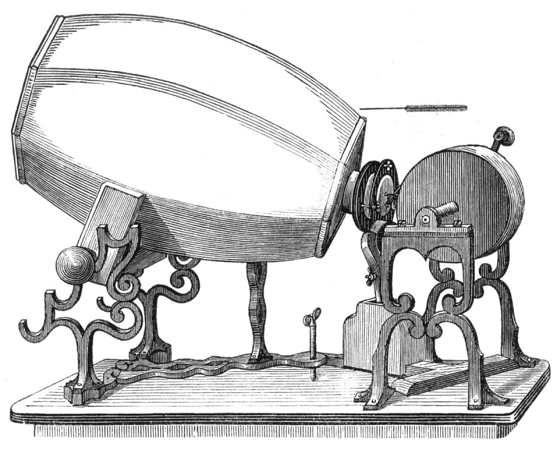 Phonoautograph by Édouard-Léon Scott de Martinville (1817–1879) (source: http://www.firstsounds.org/press/032708/images/print/pisko-p73-phonautograph.jpg)