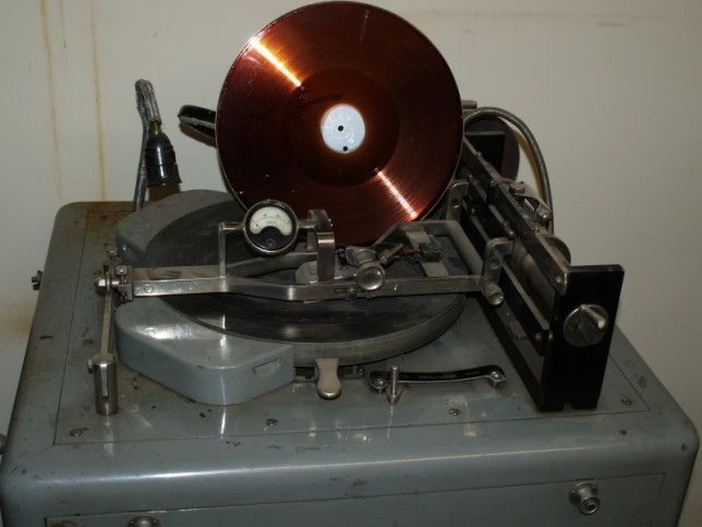 Recording equipment AMU Poznań