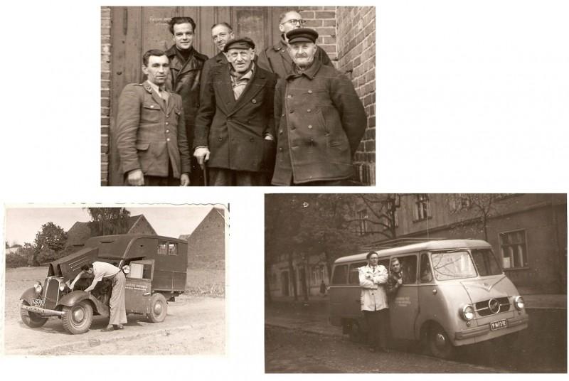 Poznań documentary team at fieldwork